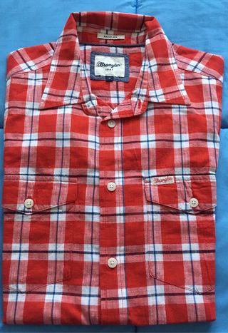 d1cd5276e6 Camisas wrangler de segunda mano en la provincia de Madrid en WALLAPOP