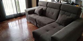 Sofa 3 plazas con cheslong