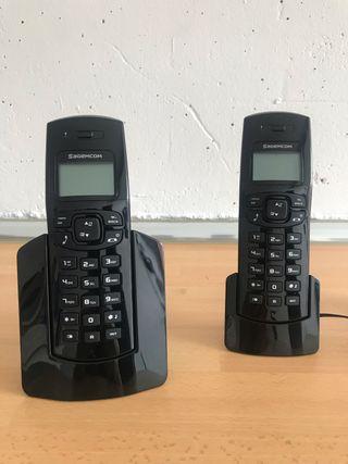 Teléfono Sagemcom D150 Duo