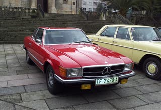 Mercedes-Benz sl 350 1972