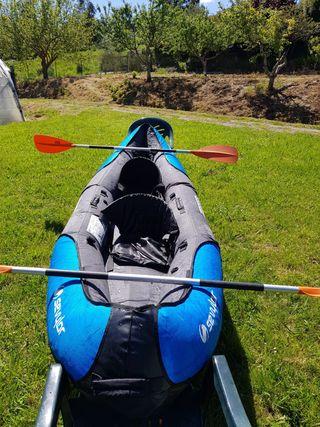 Piragua (kayak) hinchable