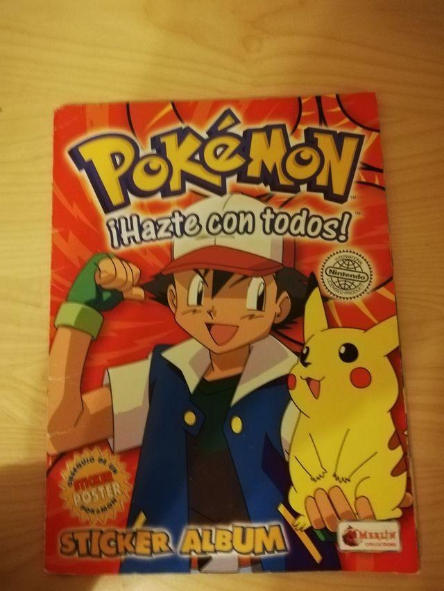 álbum de cromos Pokémon