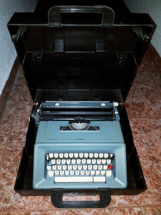 Máquina de escribir de colección
