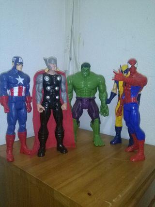 Figuras Vengadores y X-men