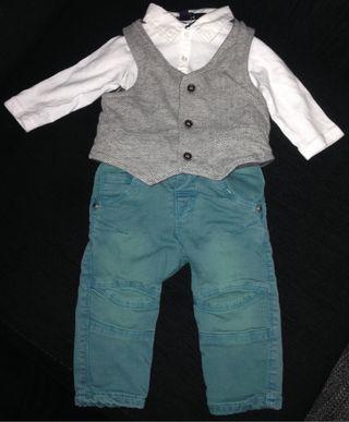 Traje bebe 6-9 meses ceremonia