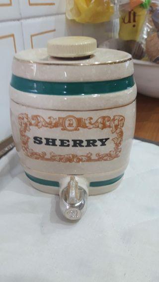 petaca de coña de porcelana inglesa