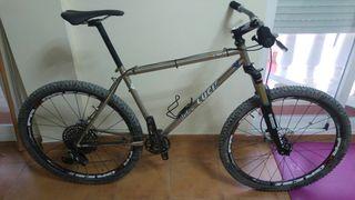 vendo bicicleta mtb clasica de acero ultralight