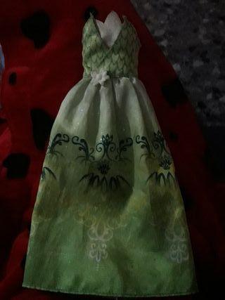 vestido tiana sapo