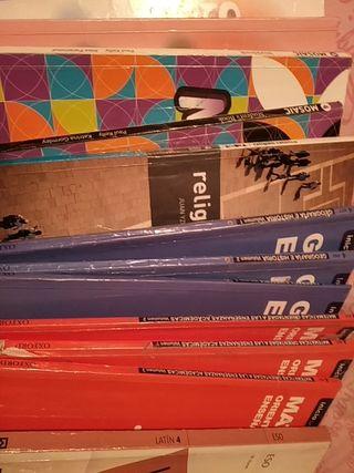 Libros de texto 4° ESO.