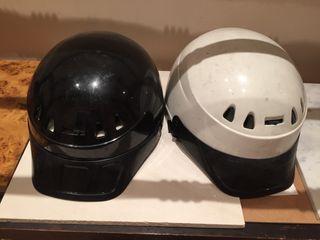 Vendo pareja de cascos para moto scooter de 50 cc