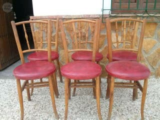 6 sillas d haya vintage