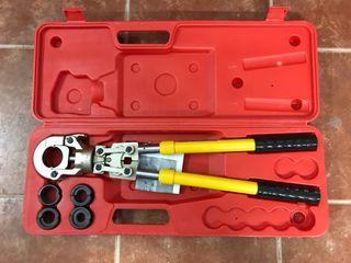 Prensa manual tubo multicapa profesional