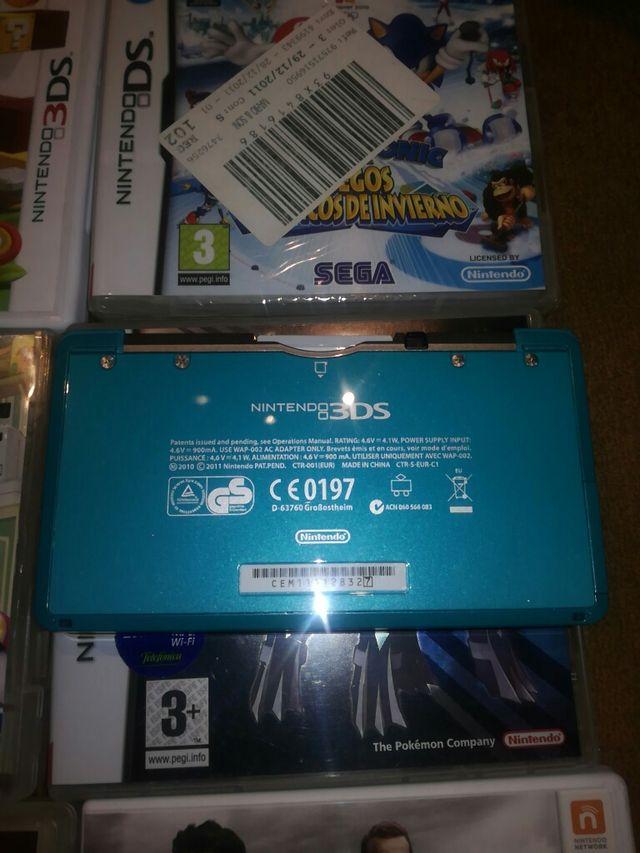 Nintendo DSLite y Nintendo 3DS