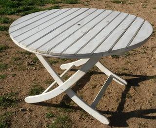 circular de madera plegable