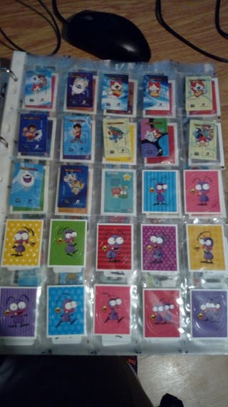 tosfrit cromos bollycao panrico jumpers risi