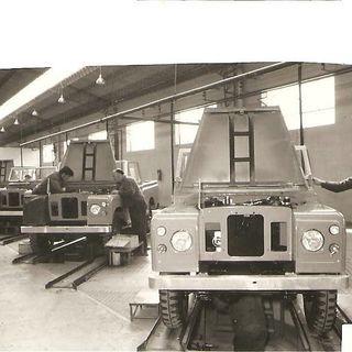 Land Rover santana 109 1980