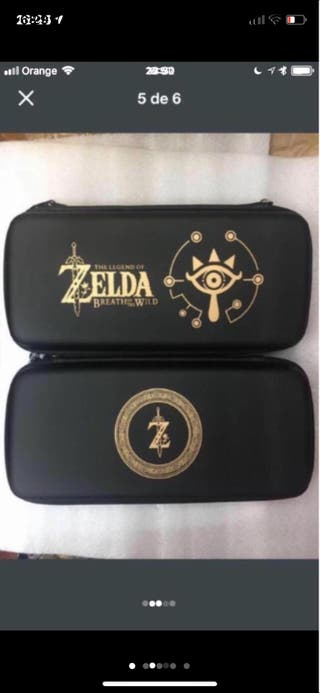 Funda para Nintendo switch zelda Beath of the Wild
