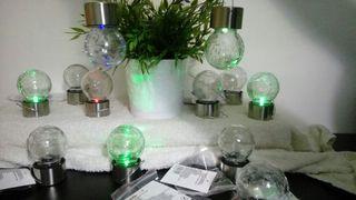bombilla solar LED