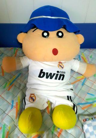 muñeco grande shin chan real madrid