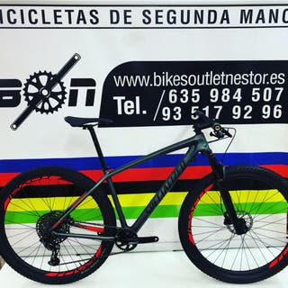 Bicicleta Specialized epic ht expert impecable