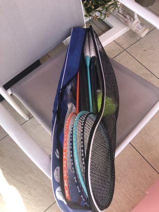Raquetas bádminton