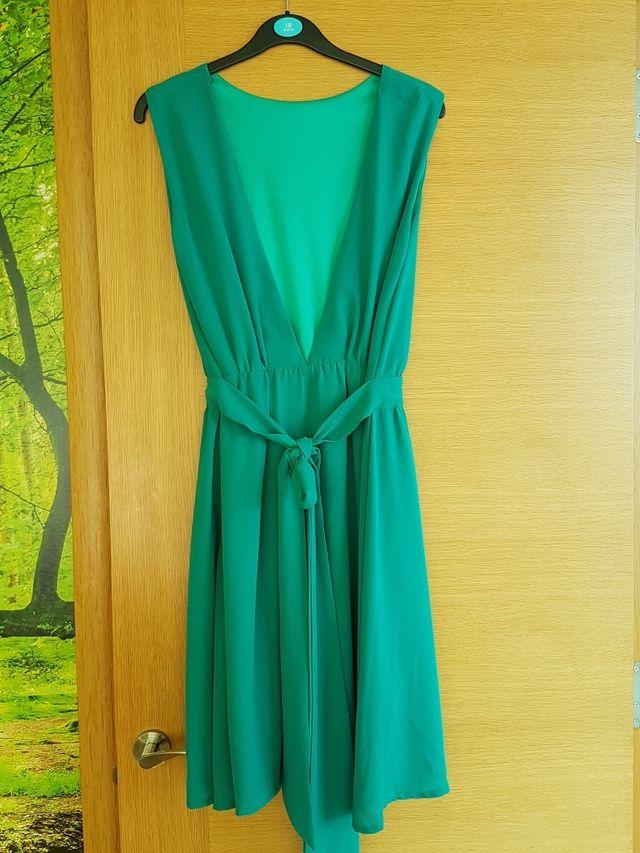Vestido Azul Turquesa Ml De Segunda Mano Por 10 En Oviedo