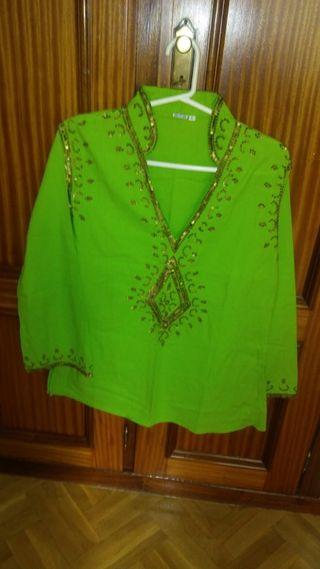 Camisola verde manzana
