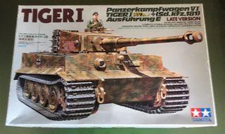 Maqueta Tamiya 1/35 - TIGER I