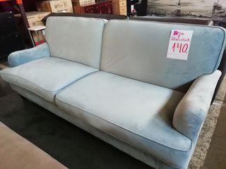 Sofá cama azul clarito