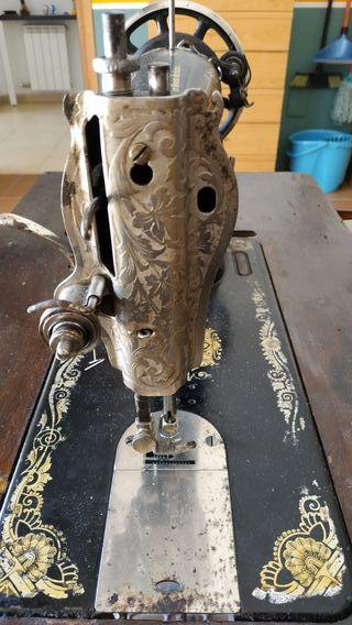 máquina coser antigua singer