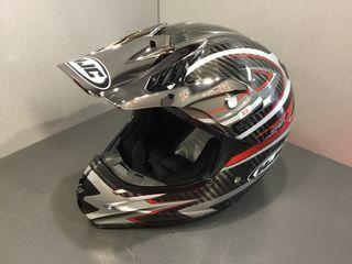 Casco Moto Enduro HJC HQ-X1 Carbono T: XL