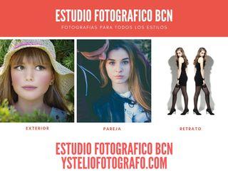 SESION DE FOTOS EN ESTUDIO Y EXTERIOR BARCELONA