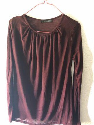 d4128520f Camisetas Zara mujer de segunda mano en Móstoles en WALLAPOP