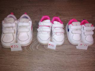 6b48a8fb9 Zapatillas Adidas Blancas de segunda mano en la provincia de Toledo.  Zapatillas deportivas niña