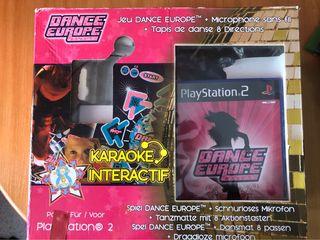 DANCE EUROPE JUEGO DE BAILE PS2