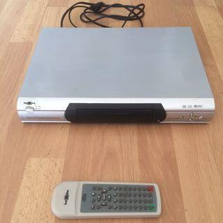 Reproductor DVD con mando/guia de usuario