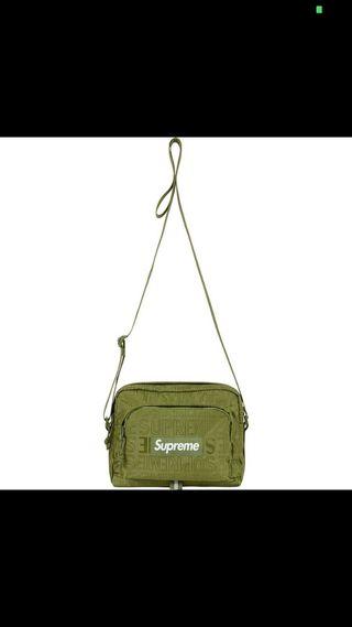 Shoulder bag Supreme verde