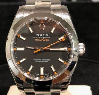 Rolex Milgauss 116400GV black dial
