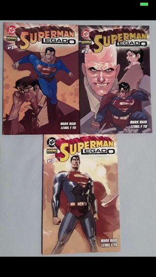 Comics Superman Legado (completa)
