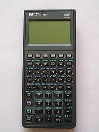 Calculadora científica HP48GX