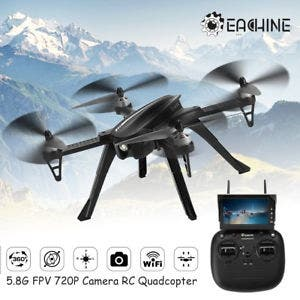DRON BRUSHLESS MONITOR FPV HD EACHINE EX2H