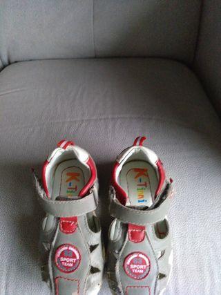 zapatos niño número 23