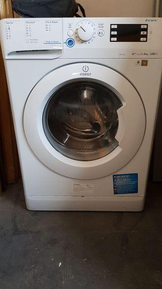 Vendo lavadora indesit A+++. 8 kilos-1200 r. p