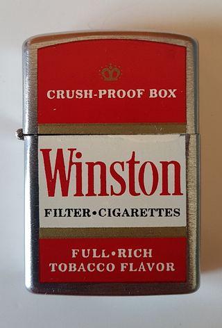 Mechero tipo Zippo Winston