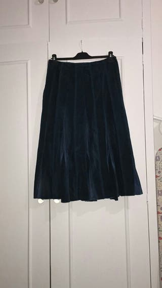 Mark and Spencer Corduroy Skirt Size M