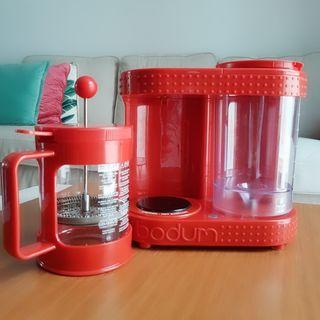 Cafetera Bodum Modelo Bistro, también para infusio