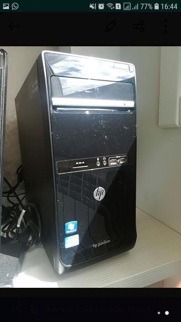 PC y Monitor HP