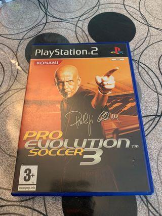 Pro Evolution Soccer 3 PS2