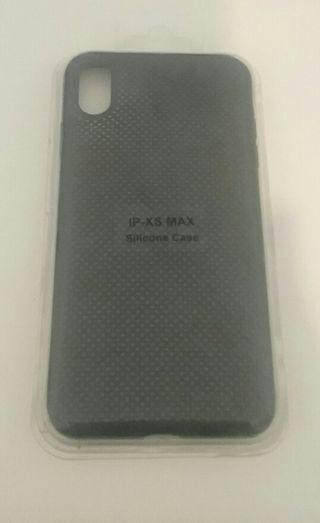 Funda silicona iPhone XS MAX