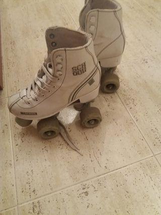 patines de niña